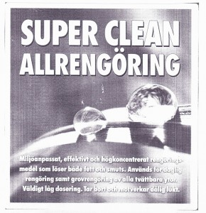 Etikett-Super-clean-allrengoring