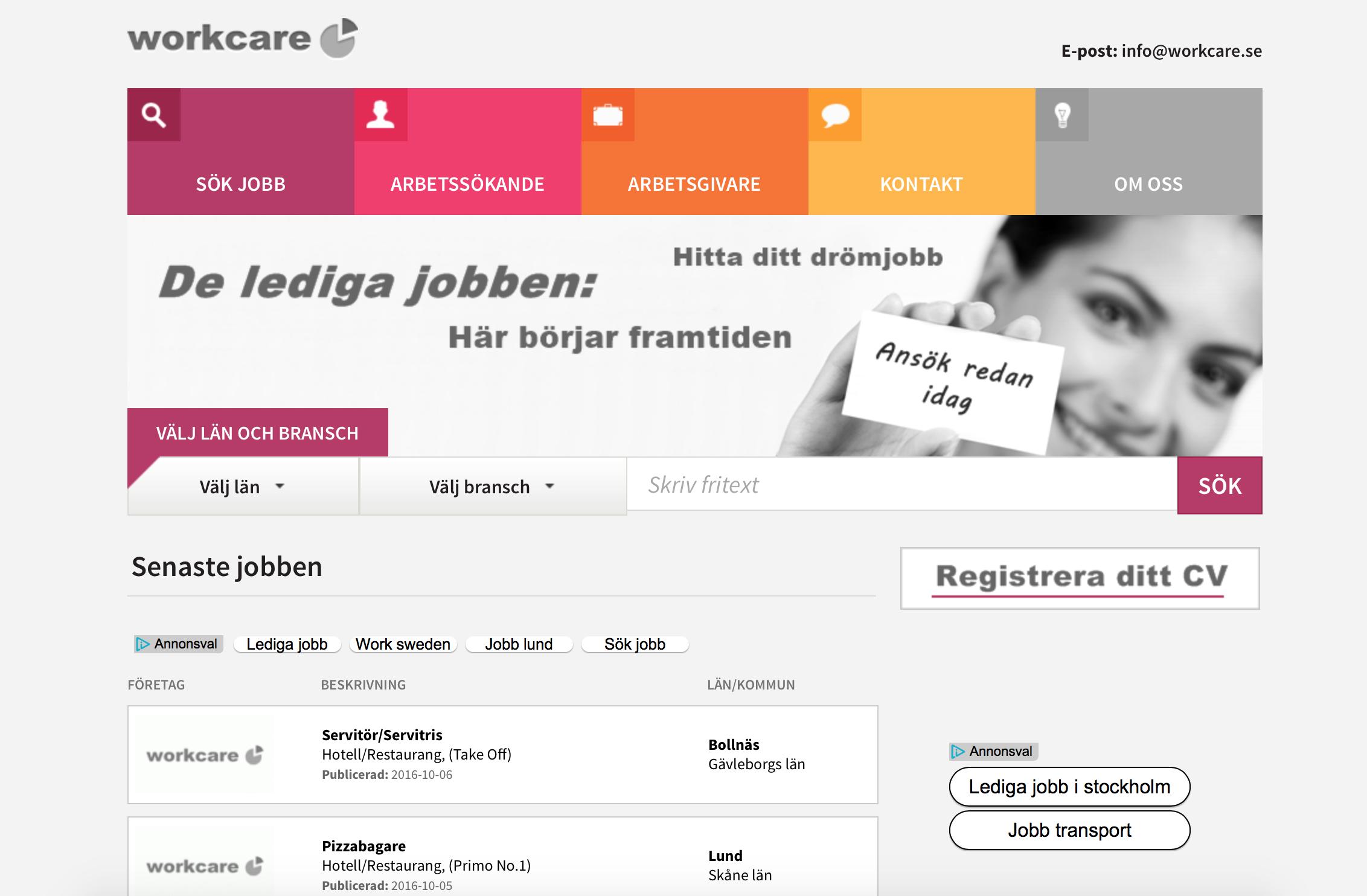 Workcare Sverige – oroväckande kopplingar