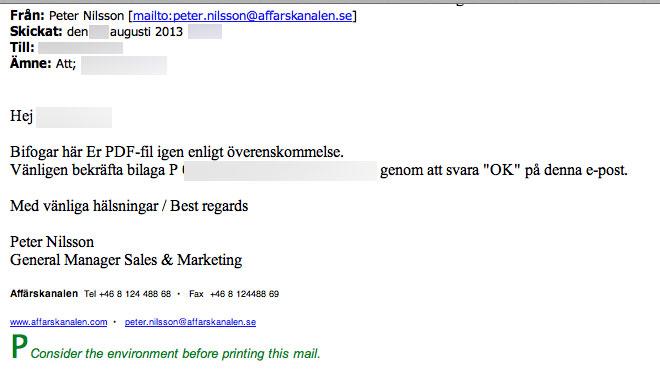 Affärskanalen b2b Media Stockholm AB E-mail - Affärskanalen.com