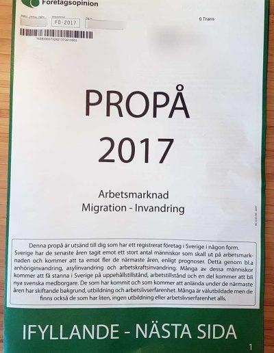 Företagsopinion Företagsopinion OÜ Propå 2017