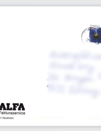 Nummerupplysningen Alfa Fakturaservice Kuvert (8)