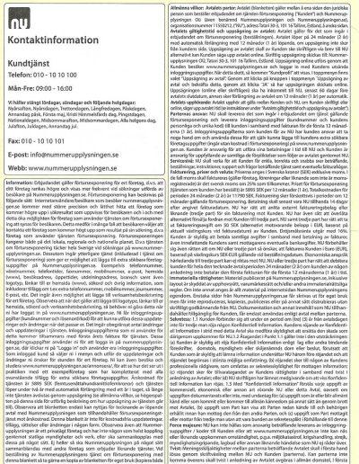 Nummerupplysningen Nummerupplysningen OÜ Allmänna villkor 2015 (15)