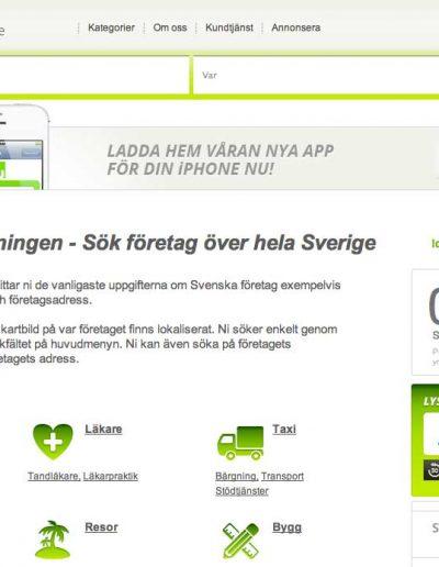 Nummerupplysningen.se Nummerupplysningen OÜ Hemsida 2013 (9)