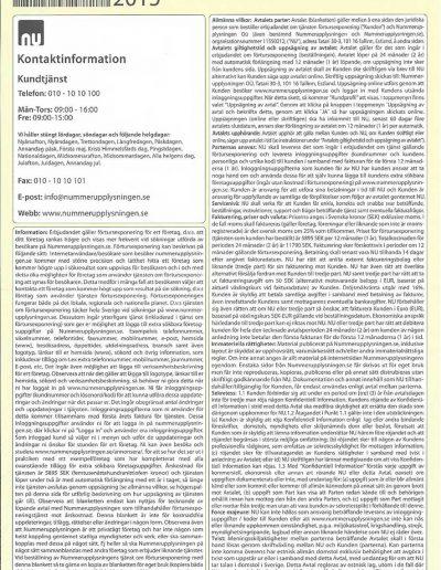 Nummerupplysningen.se Nummerupplysningen OÜ Nya villkor november 2015 (19)
