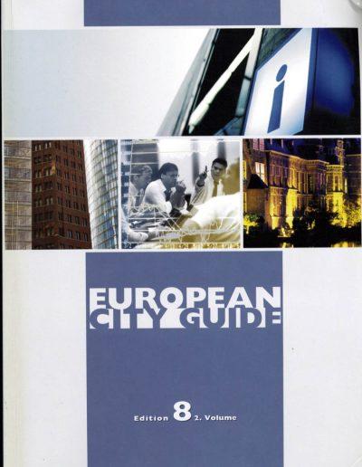 European City Guide Hemsida 2010