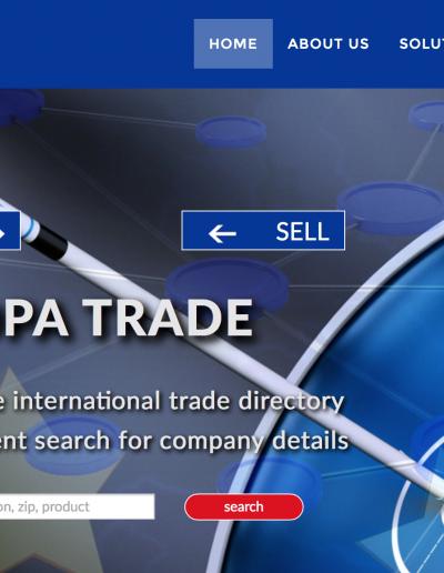Gula Sidorna Europa Trade Hemsida
