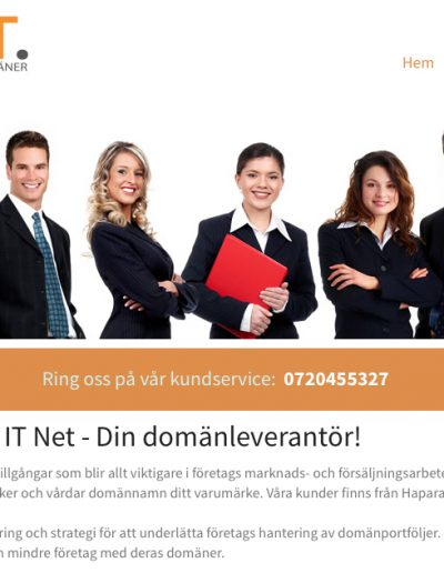 IT-Net IT Net Europe AB Hemsida - IT-net (25 feb 2014)