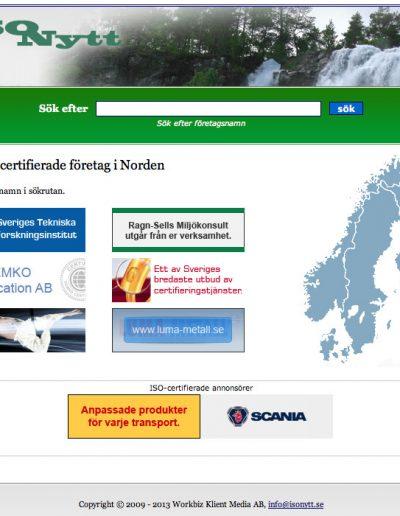 Isonytt.se MNT Online Marketing AB Isonytt.se - hemsida (2013-09-12)