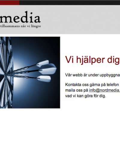 Nordmedia Marketing Sales Nord AB Hemsida