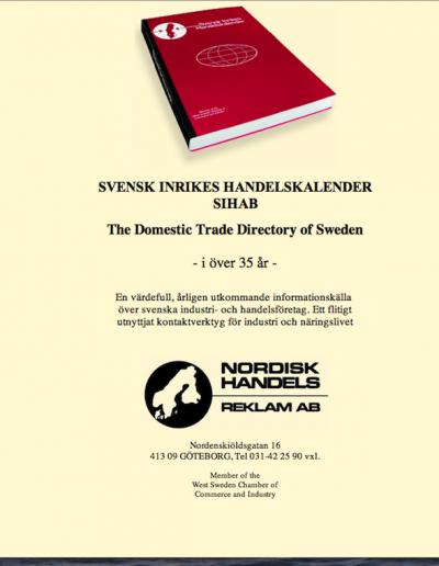 Svensk Inrikes Handelskalender Hemsida
